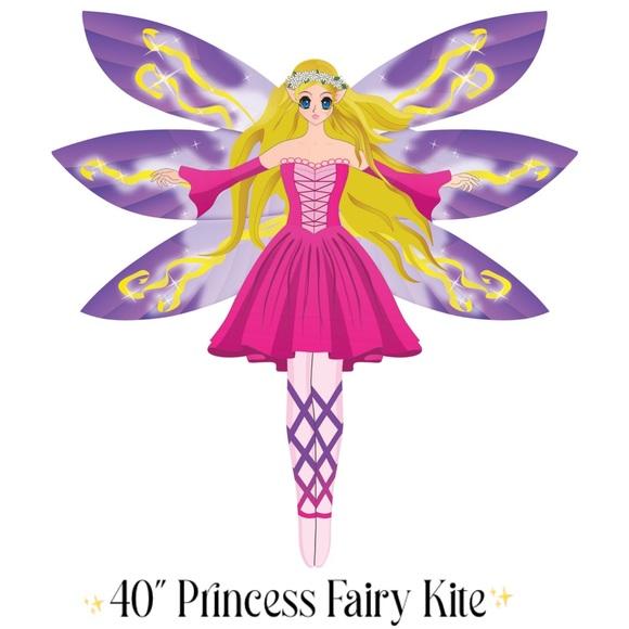 "Fun XKites CloudPleaser 40"" Princess Fairy Kite"